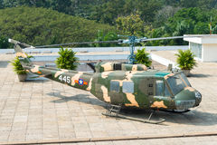 Πόλη Χο Τσι Μινχ, Βιετνάμ - 26 Ιανουαρίου 2015: Κουδούνι uh-1 Huey σε Indep Στοκ Φωτογραφία