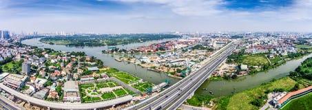Πόλη Χο Τσι Μινχ Βιετνάμ Saigon Στοκ εικόνες με δικαίωμα ελεύθερης χρήσης