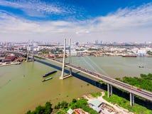 Πόλη Χο Τσι Μινχ Βιετνάμ Saigon Στοκ φωτογραφίες με δικαίωμα ελεύθερης χρήσης