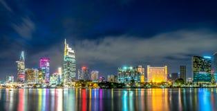 Πόλη Χο Τσι Μινχ Βιετνάμ Saigon Στοκ Φωτογραφία