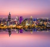 Πόλη Χο Τσι Μινχ Βιετνάμ Saigon Στοκ εικόνα με δικαίωμα ελεύθερης χρήσης