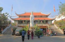 Πόλη Χο Τσι Μινχ Saigon Βιετνάμ ναών παγοδών Nghiem Vinh Στοκ φωτογραφία με δικαίωμα ελεύθερης χρήσης