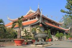 Πόλη Χο Τσι Μινχ Saigon Βιετνάμ ναών παγοδών Nghiem Vinh Στοκ Εικόνες