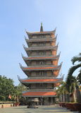 Πόλη Χο Τσι Μινχ Saigon Βιετνάμ ναών παγοδών Nghiem Vinh Στοκ φωτογραφίες με δικαίωμα ελεύθερης χρήσης