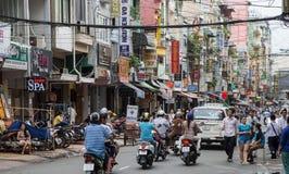 Πόλη Χο Τσι Μινχ, Saigon, Βιετνάμ Στοκ εικόνες με δικαίωμα ελεύθερης χρήσης