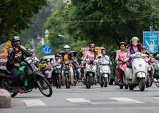 Πόλη Χο Τσι Μινχ, Saigon, Βιετνάμ Στοκ Εικόνες