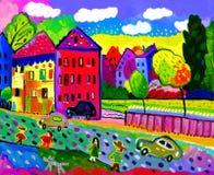 Πόλη Στοκ εικόνα με δικαίωμα ελεύθερης χρήσης