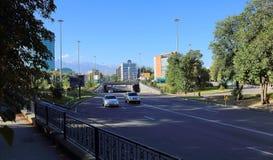 Πόλη Alma Ata Στοκ εικόνες με δικαίωμα ελεύθερης χρήσης