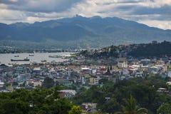 Πόλη Ambon, Ινδονησία στοκ φωτογραφία με δικαίωμα ελεύθερης χρήσης