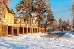 πόλη Angarsk χειμώνας 30 Στοκ φωτογραφία με δικαίωμα ελεύθερης χρήσης