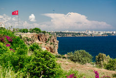 Πόλη Antalya, Τουρκία Στοκ εικόνα με δικαίωμα ελεύθερης χρήσης