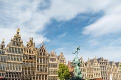 Πόλη Antwerpen στο Βέλγιο Στοκ Φωτογραφίες