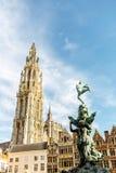 Πόλη Antwerpen στο Βέλγιο Στοκ φωτογραφία με δικαίωμα ελεύθερης χρήσης