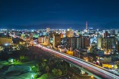 Πόλη Aomori, Ιαπωνία Στοκ Φωτογραφία