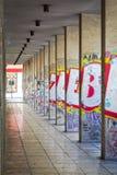 Πόλη arcade Στοκ φωτογραφία με δικαίωμα ελεύθερης χρήσης