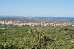 Πόλη Argeles sur mer Στοκ Εικόνες