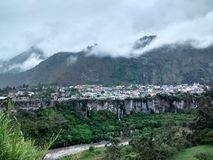 Πόλη Baños de Agua Santa στοκ εικόνες με δικαίωμα ελεύθερης χρήσης