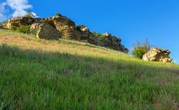 Πόλη Bakla σπηλιών σε Bakhchysarai Raion, Κριμαία στοκ φωτογραφίες με δικαίωμα ελεύθερης χρήσης