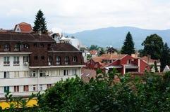 Πόλη banja Vrnjachka Στοκ εικόνες με δικαίωμα ελεύθερης χρήσης