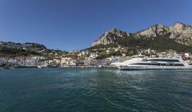 Πόλη Capri Στοκ εικόνες με δικαίωμα ελεύθερης χρήσης