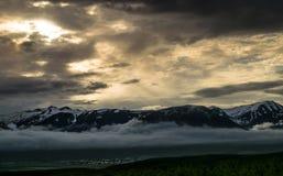 Πόλη Dalvik στοκ φωτογραφία με δικαίωμα ελεύθερης χρήσης