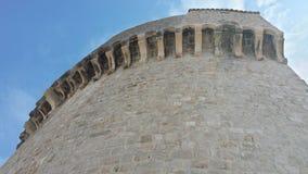 Πόλη Dubrovnik και του τοίχου, Κροατία Στοκ εικόνες με δικαίωμα ελεύθερης χρήσης