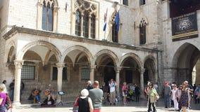 Πόλη Dubrovnik και του τοίχου, Κροατία Στοκ φωτογραφία με δικαίωμα ελεύθερης χρήσης