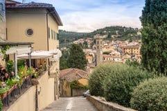 Πόλη Fiesole, Ιταλία Στοκ Εικόνα