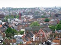 Πόλη Gent στο Βέλγιο Στοκ Εικόνες