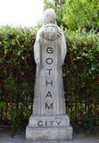 Πόλη Gotham, πάρκο Warner, Μαδρίτη στοκ εικόνα