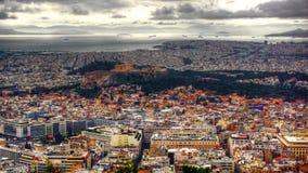 Πόλη Grecia Atena Στοκ Φωτογραφία