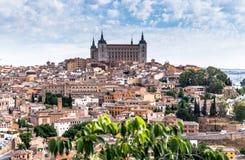 Πόλη Hill στο Τολέδο, Ισπανία Στοκ Εικόνες