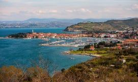 Πόλη Izola, Σλοβενία στοκ εικόνα με δικαίωμα ελεύθερης χρήσης