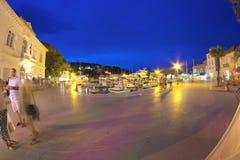 Πόλη Jelsa στο νησί Hvar Στοκ Εικόνες