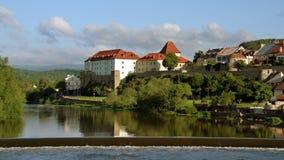 Πόλη Kadaň, Δημοκρατία της Τσεχίας στοκ φωτογραφίες
