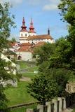 Πόλη Kadaň, Δημοκρατία της Τσεχίας στοκ φωτογραφίες με δικαίωμα ελεύθερης χρήσης
