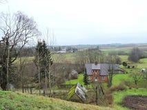 Πόλη Kalvarija Zemaiciu, Λιθουανία στοκ φωτογραφίες με δικαίωμα ελεύθερης χρήσης