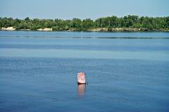 Πόλη Kaniv, Ουκρανία Ποταμός Dnipro Πάρκο Shevchenko Taras Στοκ φωτογραφία με δικαίωμα ελεύθερης χρήσης