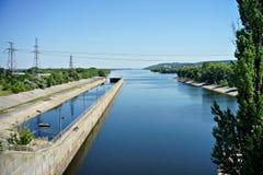 Πόλη Kaniv, Ουκρανία Ποταμός Dnipro Πάρκο Shevchenko Taras Στοκ Φωτογραφίες