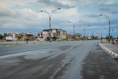 Πόλη Kirkuk μετά από τη βροχή Στοκ Φωτογραφία