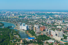 Πόλη Krasnodar, Ρωσία Στοκ φωτογραφία με δικαίωμα ελεύθερης χρήσης