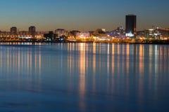 Πόλη Krasnoyarsk Στοκ εικόνα με δικαίωμα ελεύθερης χρήσης