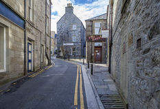 Πόλη Lerwick, Scotland3 Στοκ Εικόνα