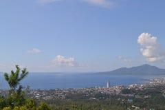 Πόλη Manado άποψης Στοκ Φωτογραφίες
