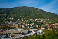 Πόλη Maslianico Στοκ Φωτογραφία