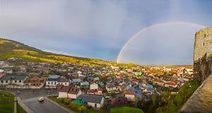 Πόλη Panoram Στοκ Φωτογραφίες