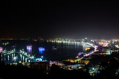Πόλη Pattaya, Ταϊλάνδη Στοκ Φωτογραφίες