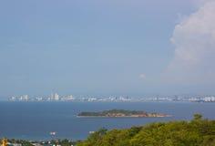 Πόλη Pattaya Στοκ φωτογραφία με δικαίωμα ελεύθερης χρήσης