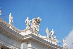 πόλη Peter s τετραγωνικό ST Βατικανό βασιλικών Στοκ φωτογραφία με δικαίωμα ελεύθερης χρήσης