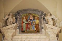 πόλη Peter s τετραγωνικό ST Βατικανό βασιλικών Στοκ εικόνες με δικαίωμα ελεύθερης χρήσης